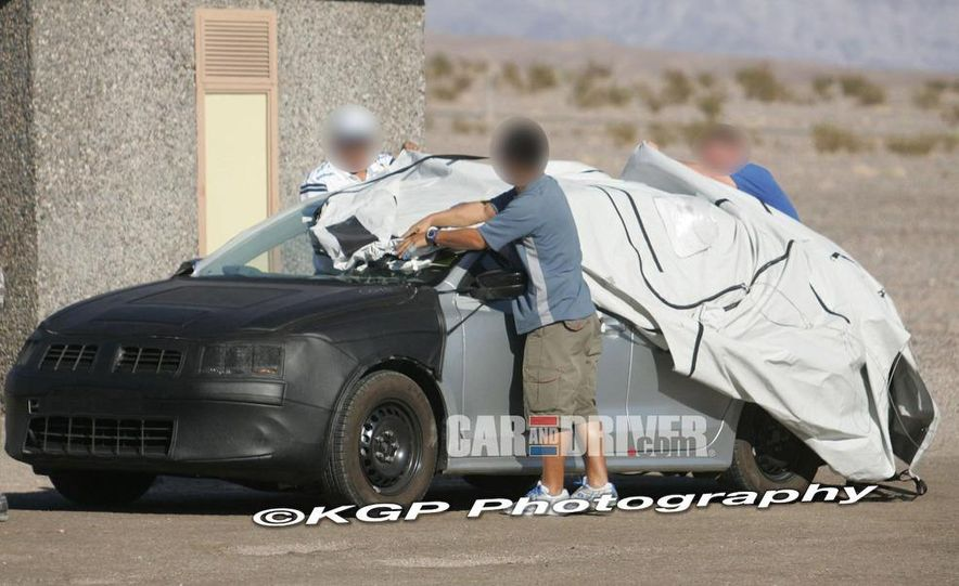 2011 Volkswagen Jetta (spy photo) - Slide 14
