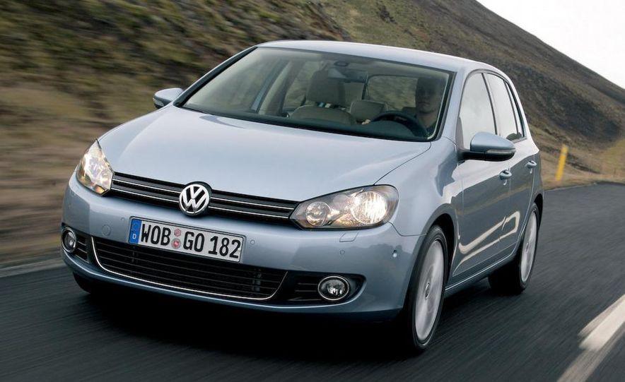 2009 / 2010 Volkswagen Golf VI 2.0 TDI Diesel (European spec) - Slide 2