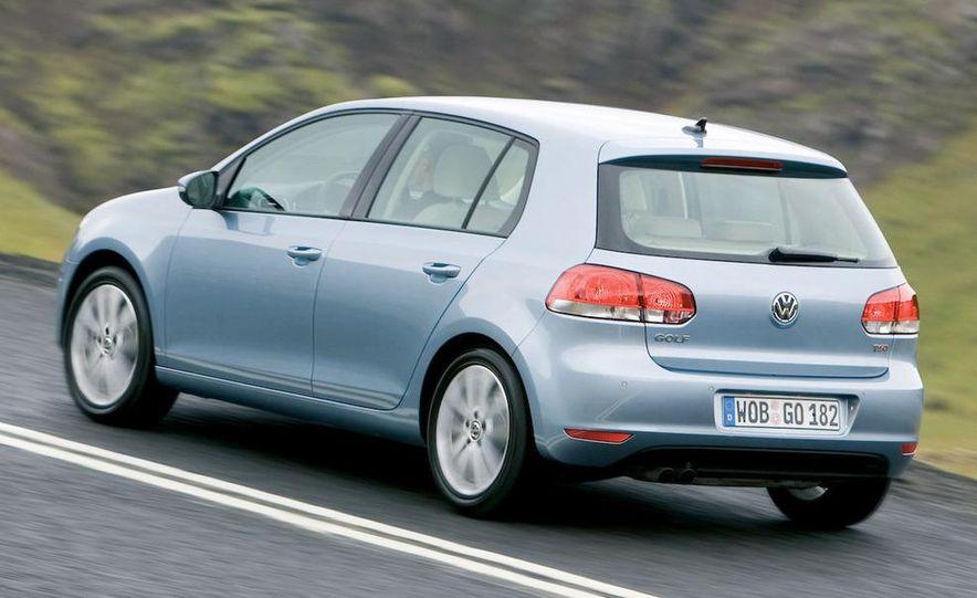 2009 / 2010 Volkswagen Golf VI 2.0 TDI Diesel (European spec) - Slide 4