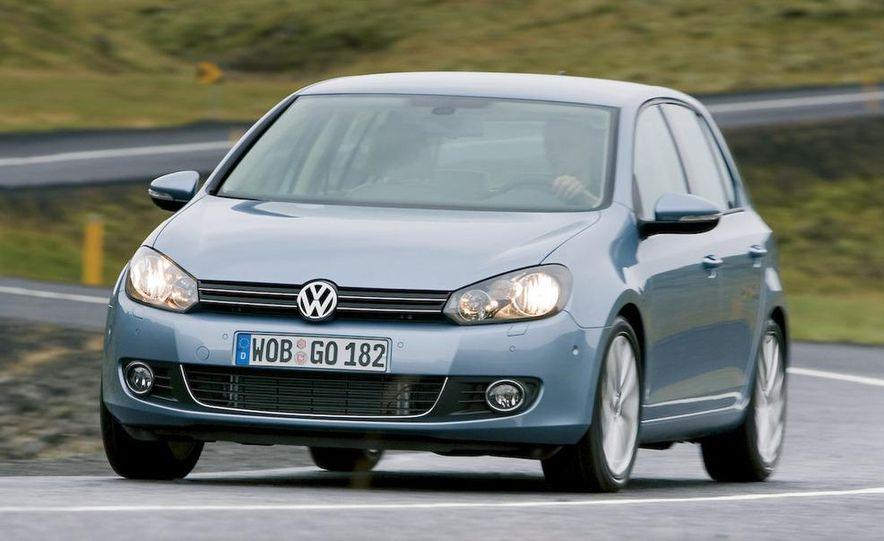 2009 / 2010 Volkswagen Golf VI 2.0 TDI Diesel (European spec) - Slide 6