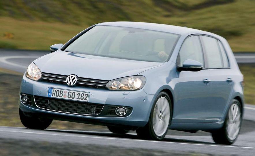 2009 / 2010 Volkswagen Golf VI 2.0 TDI Diesel (European spec) - Slide 7