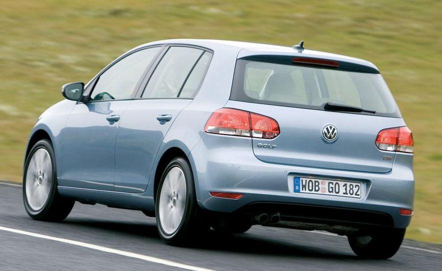 2009 / 2010 Volkswagen Golf VI 2.0 TDI Diesel (European spec) - Slide 8