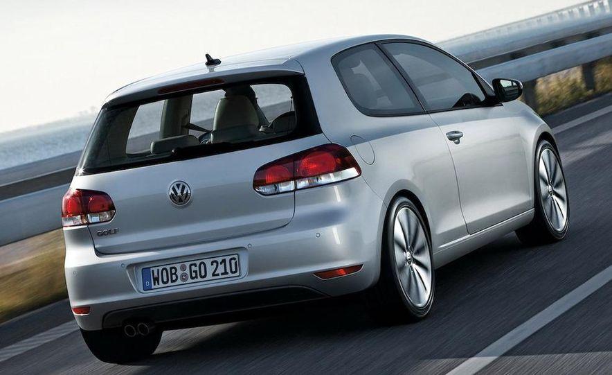 2009 / 2010 Volkswagen Golf VI 2.0 TDI Diesel (European spec) - Slide 9