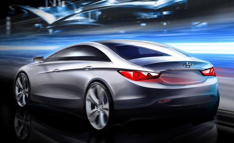2011 Hyundai Sonata (artist's rendering) - Slide 1