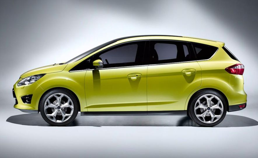 2011 Ford C-Max (Euro spec) - Slide 2