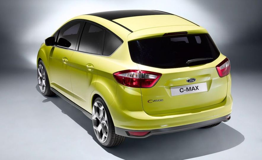 2011 Ford C-Max (Euro spec) - Slide 3