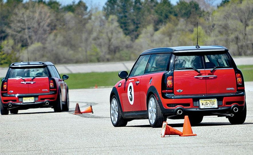 We take our mothers-in-law to driving school to see if even they can coax a car to its limit. - Slide 7