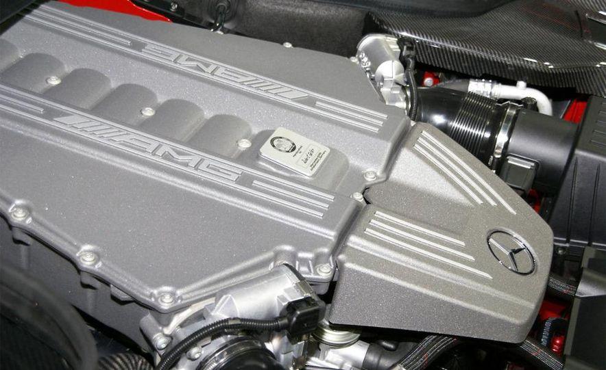 2011 Mercedes-Benz SLS AMG grille badge - Slide 7