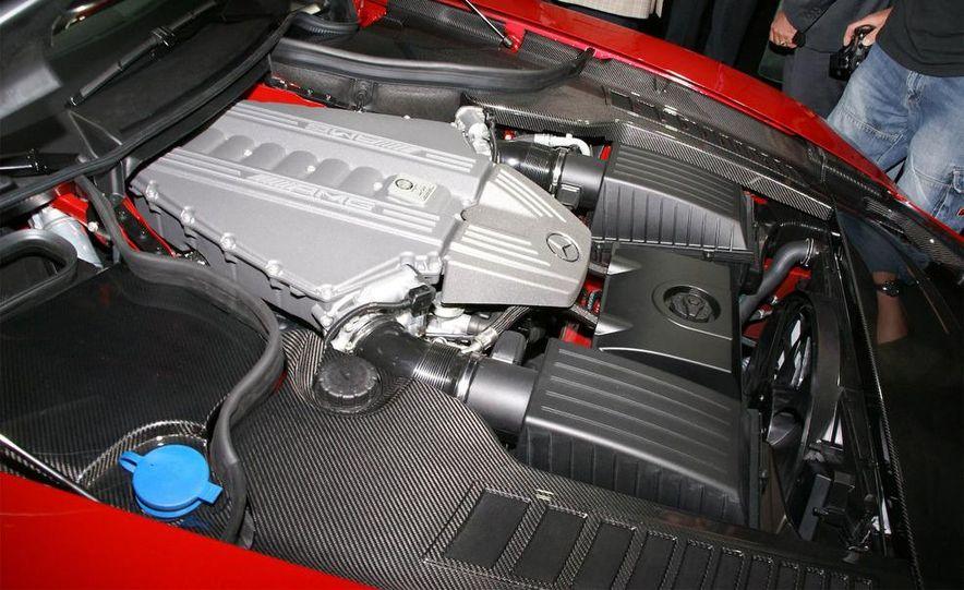 2011 Mercedes-Benz SLS AMG grille badge - Slide 8