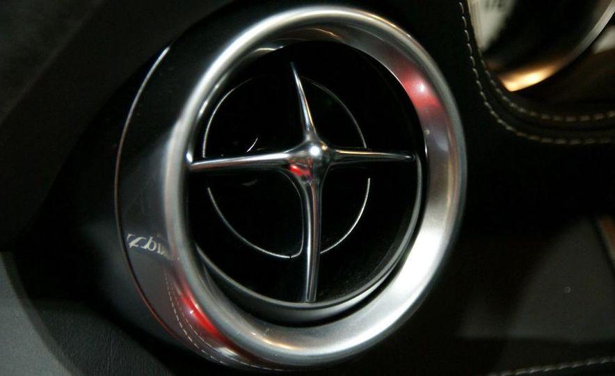 2011 Mercedes-Benz SLS AMG grille badge - Slide 29