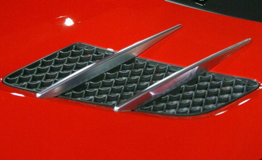 2011 Mercedes-Benz SLS AMG grille badge - Slide 2