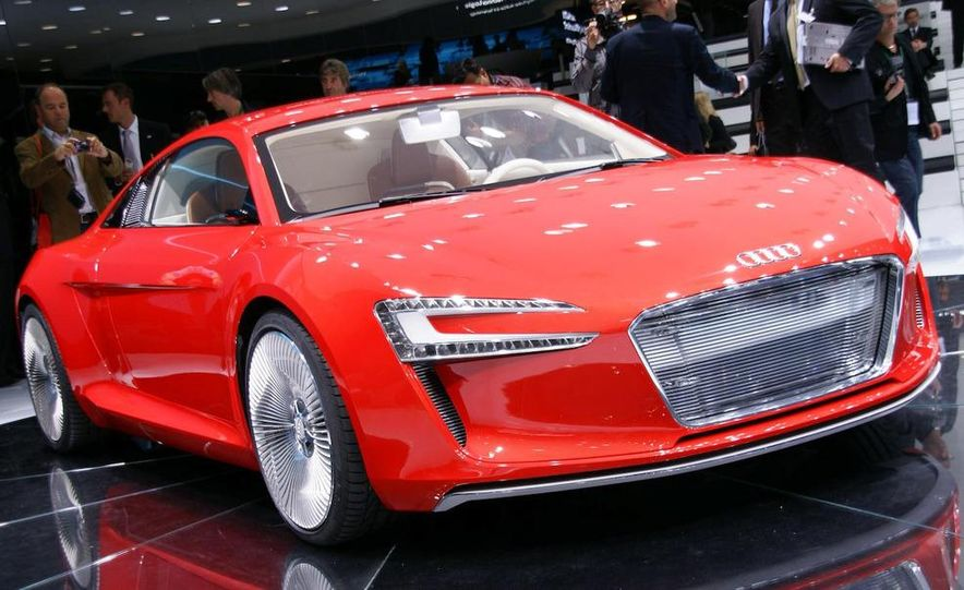 Audi E-Tron concept LED headlight - Slide 19