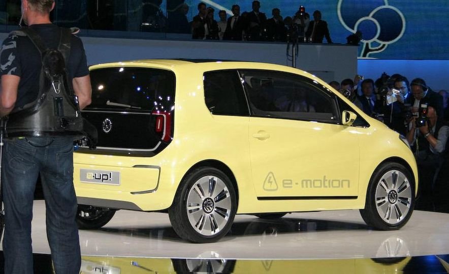 Volkswagen E-Up! concept - Slide 7