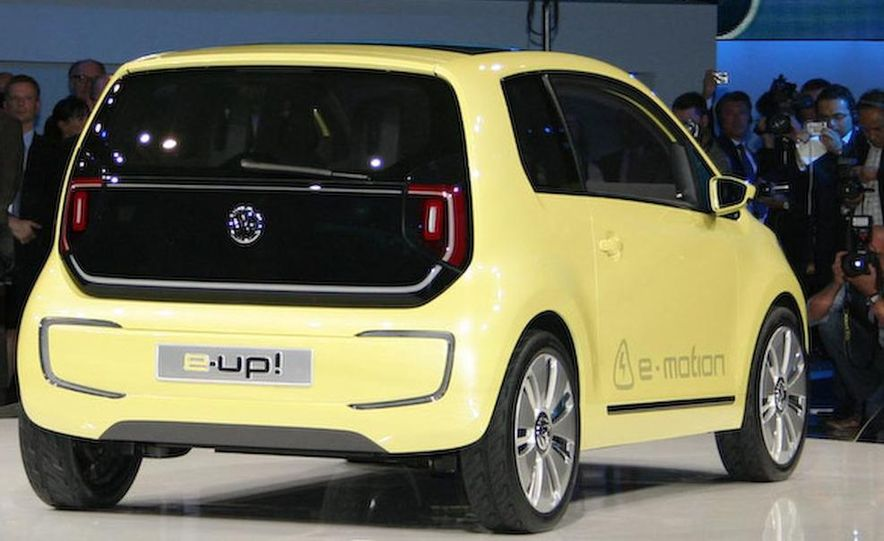 Volkswagen E-Up! concept - Slide 8