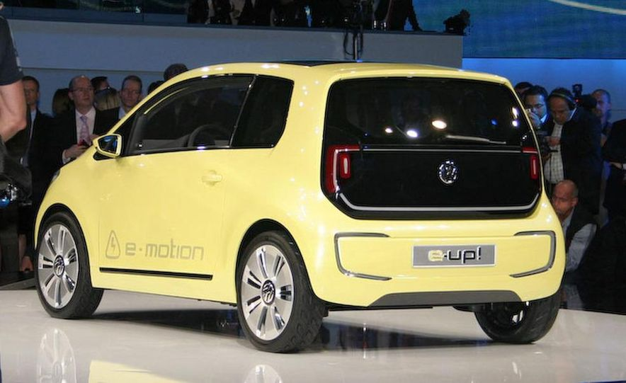 Volkswagen E-Up! concept - Slide 11