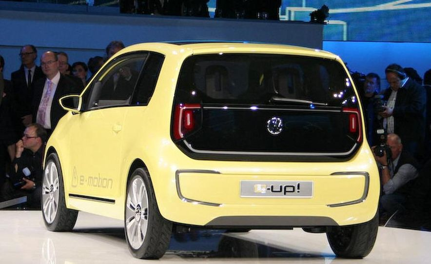 Volkswagen E-Up! concept - Slide 12