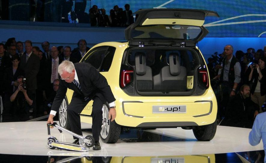 Volkswagen E-Up! concept - Slide 14
