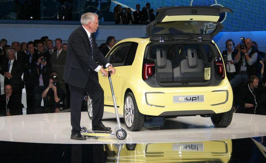 Volkswagen E-Up! concept - Slide 16
