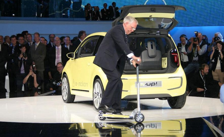 Volkswagen E-Up! concept - Slide 17