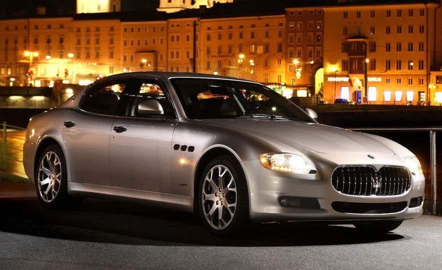 2009 Maserati Quattroporte S - Slide 16