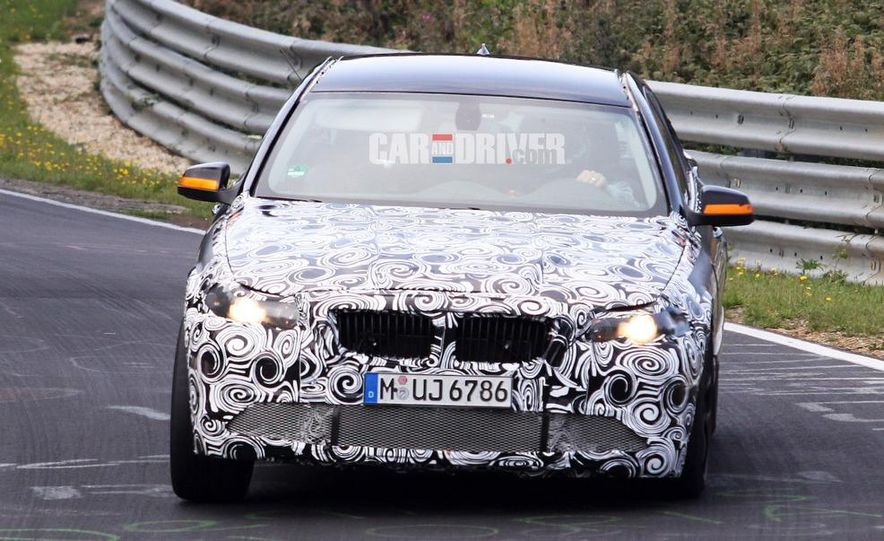 2011/2012 BMW M5 (spy photo) - Slide 7