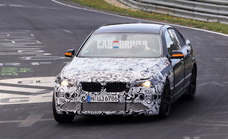 2011/2012 BMW M5 (spy photo) - Slide 8