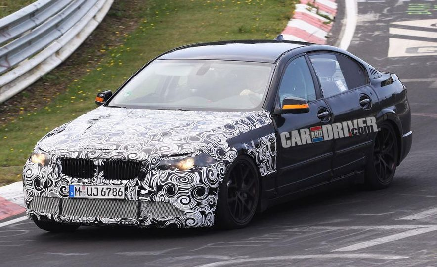 2011/2012 BMW M5 (spy photo) - Slide 9