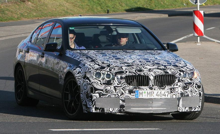 2011/2012 BMW M5 (spy photo) - Slide 1