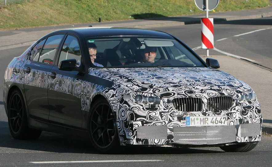 2011/2012 BMW M5 (spy photo) - Slide 2