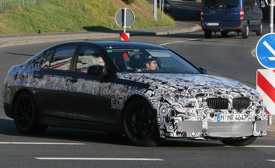 2011/2012 BMW M5 (spy photo) - Slide 3