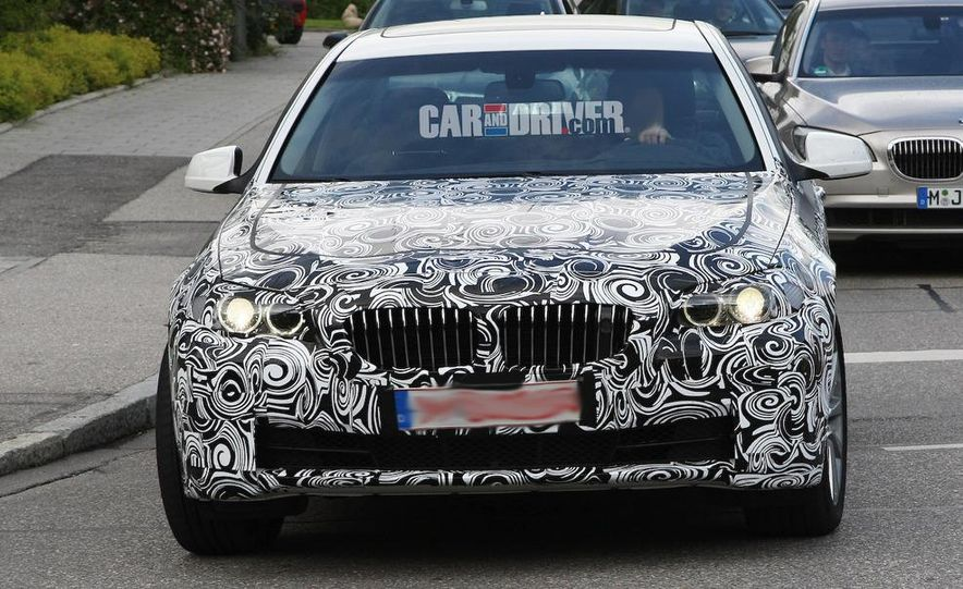 2011/2012 BMW M5 (spy photo) - Slide 13