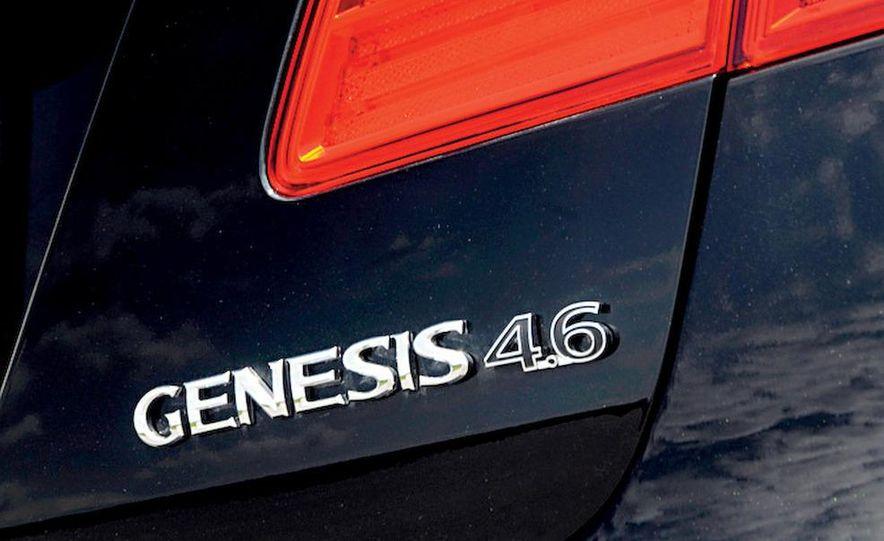 2009 Hyundai Genesis 4.6 - Slide 22