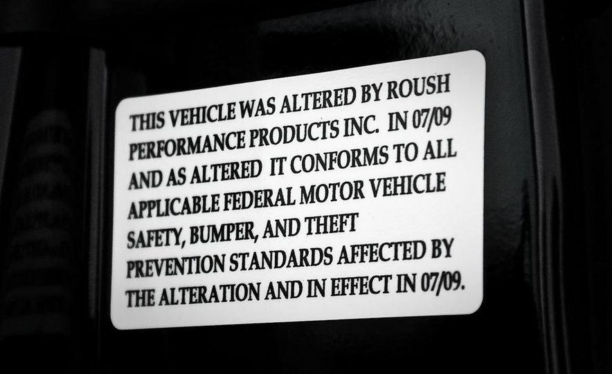 2010 Roush Ford Mustang 427R - Slide 52
