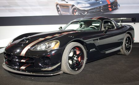 2010 Dodge Viper SRT10 ACR Voodoo Edition and 1:33 Edition