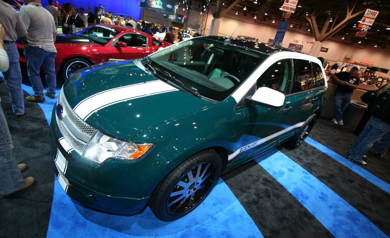 2010 Ford Edge RallyE by Santini Paint for SEMA