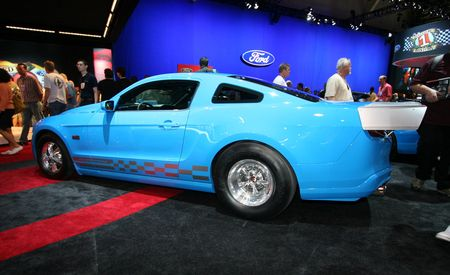 2010 Ford Mustangs for SEMA