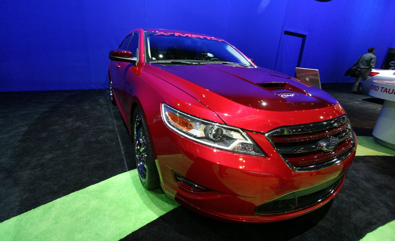 2010 ford taurus and taurus sho for sema auto shows news car and driver