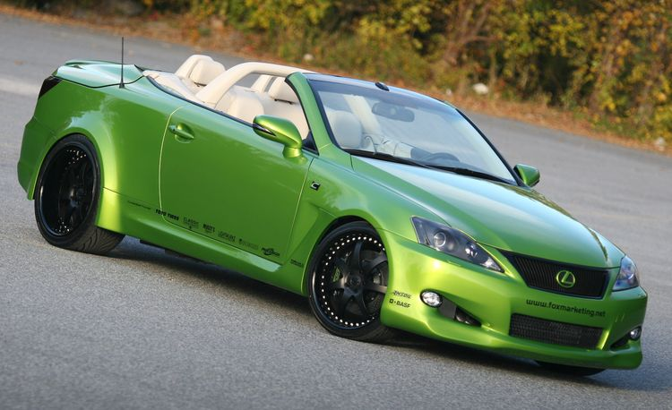 2010 Lexus IS350C by Fox Marketing for SEMA