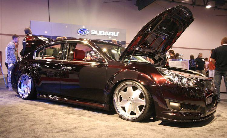 2010 Subaru Legacy 2.5GT VIP Concept