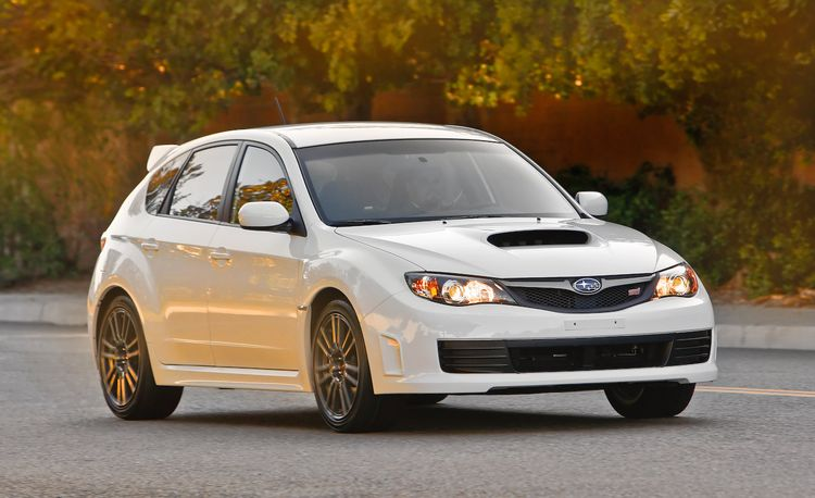 2010 Subaru WRX STI Special Edition