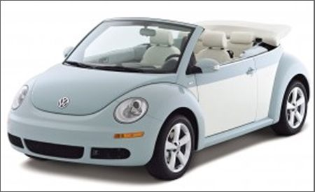 2010 Volkswagen New Beetle Final Edition Coupe and Convertible