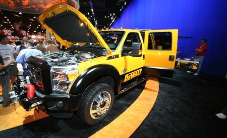 2011 Ford Super Duty DeWalt Contractor Concept