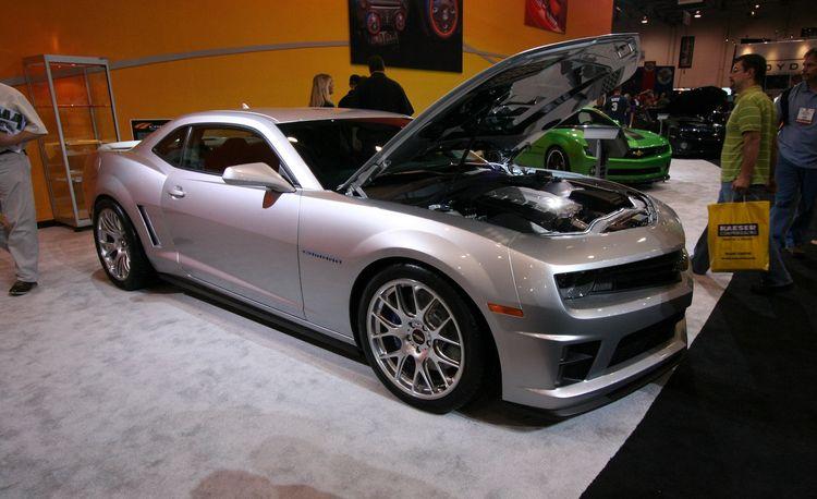 2010 Chevrolet Camaros for SEMA