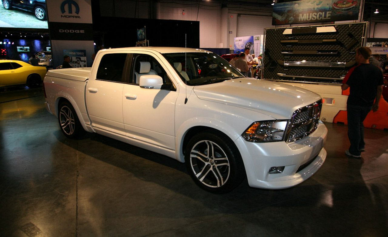 Dodge Ram Bianco for SEMA