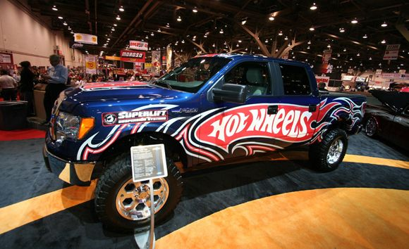 Ford F-150s for SEMA