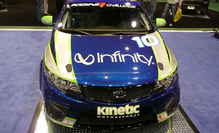 Kia Creates U.S. Motorsports Program, Unveils Forte Koup Race Car