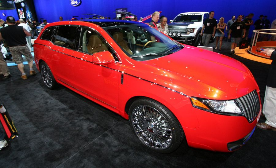 Lincoln MKS, MKT, and MKZ for SEMA