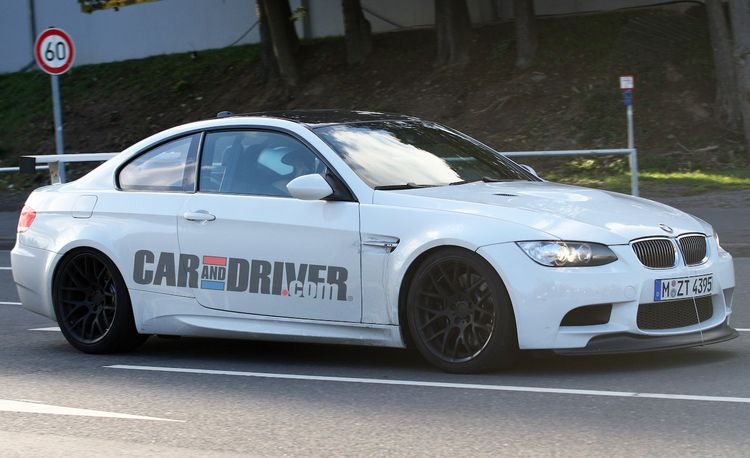 Possible 2011 BMW M3 Competition Package
