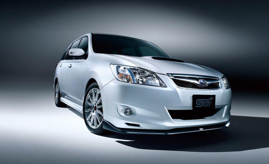 Subaru Exiga 20GT Tuned by STI  Auto Shows  News  Car and Driver