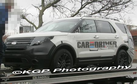2011 Ford Explorer Caught Undisguised!